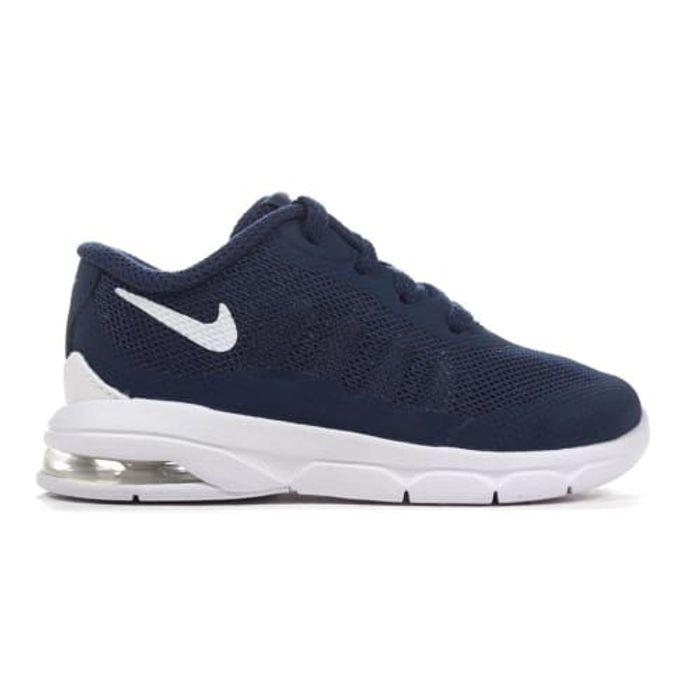 homme NIKE Chaussures Nike Air Max Invigor TD bleu foncé et blanc pour enfant