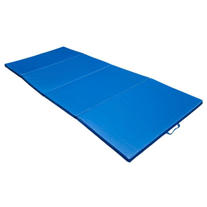 tapis de sol gymnastique natte de gym matelas fitness pliable portable 8 pied bleu 30 achat et. Black Bedroom Furniture Sets. Home Design Ideas