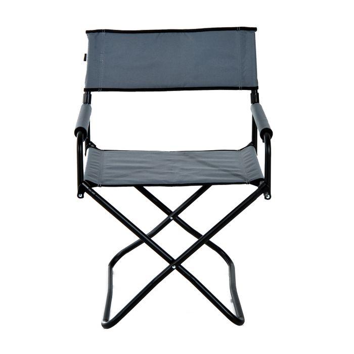 Chaise de camping loisirs pliante avec accoudoirs 55l x for Chaise de camping pliante