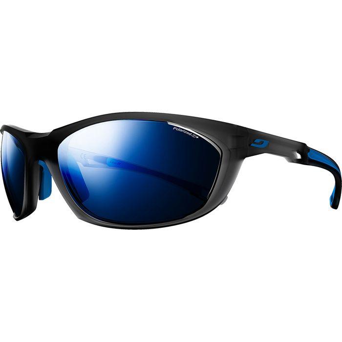 Mode- Lifestyle JULBO Lunettes de soleil Julbo Race 2.0 Nautic, couleur    gris translucide   bleu, verre   Polarized 3+ 86958027f089