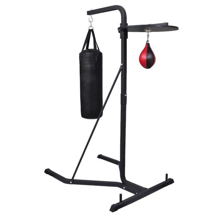 support boxe avec sac de frappe et poire sport fitness musculation helloshop26 0702013 achat. Black Bedroom Furniture Sets. Home Design Ideas