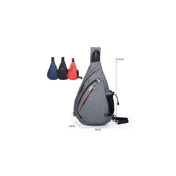 sacs dos de 19 pouces mignon sac bandouli re en triangle la mode pour camping gris. Black Bedroom Furniture Sets. Home Design Ideas