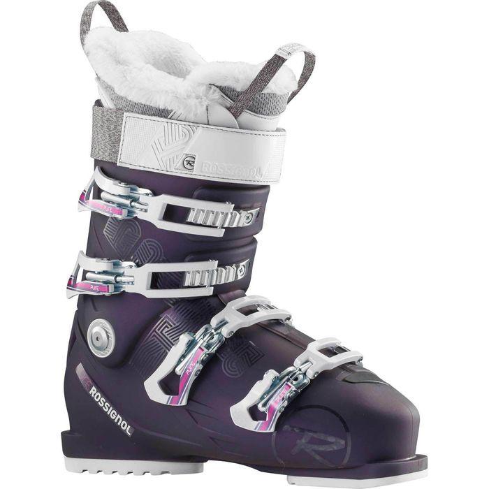 chaussures de ski pure 90 violet rossignol femme achat. Black Bedroom Furniture Sets. Home Design Ideas