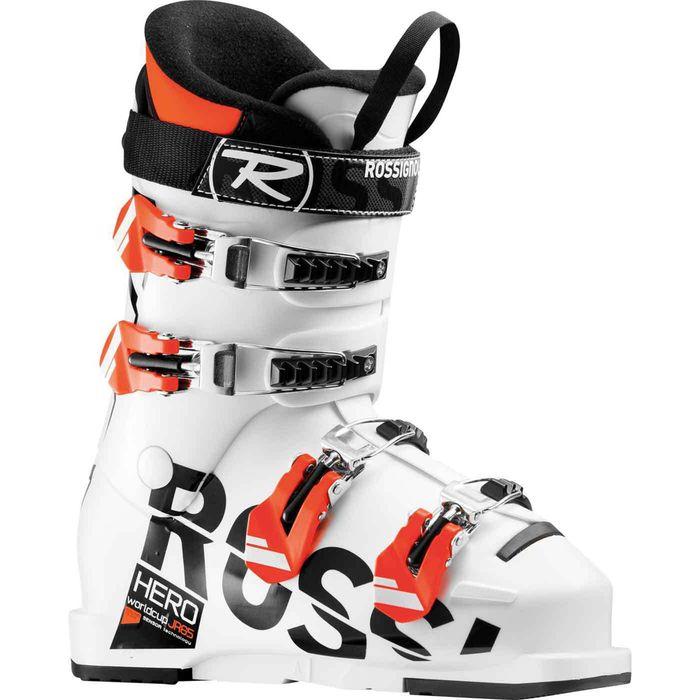 chaussures de ski hero jr 65 blanc rossignol achat et prix pas cher go sport. Black Bedroom Furniture Sets. Home Design Ideas