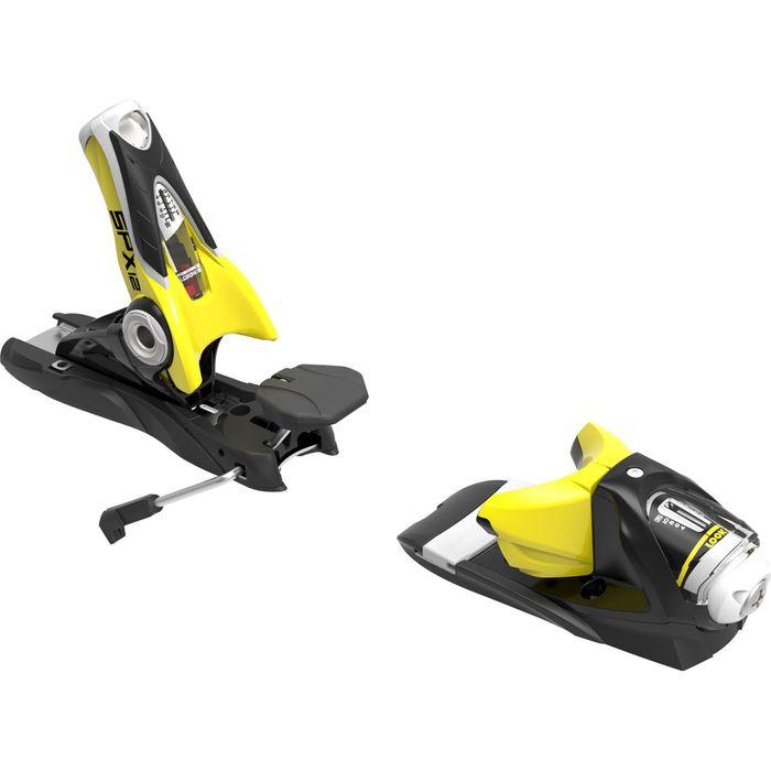 fixations de ski look spx 12 dual wtr b100 bk yellow. Black Bedroom Furniture Sets. Home Design Ideas