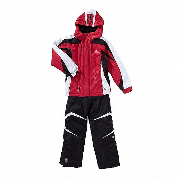 peak mountain ensemble de ski fille gilia noir gris. Black Bedroom Furniture Sets. Home Design Ideas