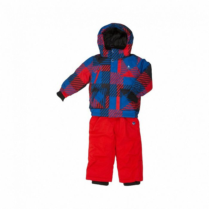 peak mountain ensemble de ski exop bleu rouge achat et. Black Bedroom Furniture Sets. Home Design Ideas