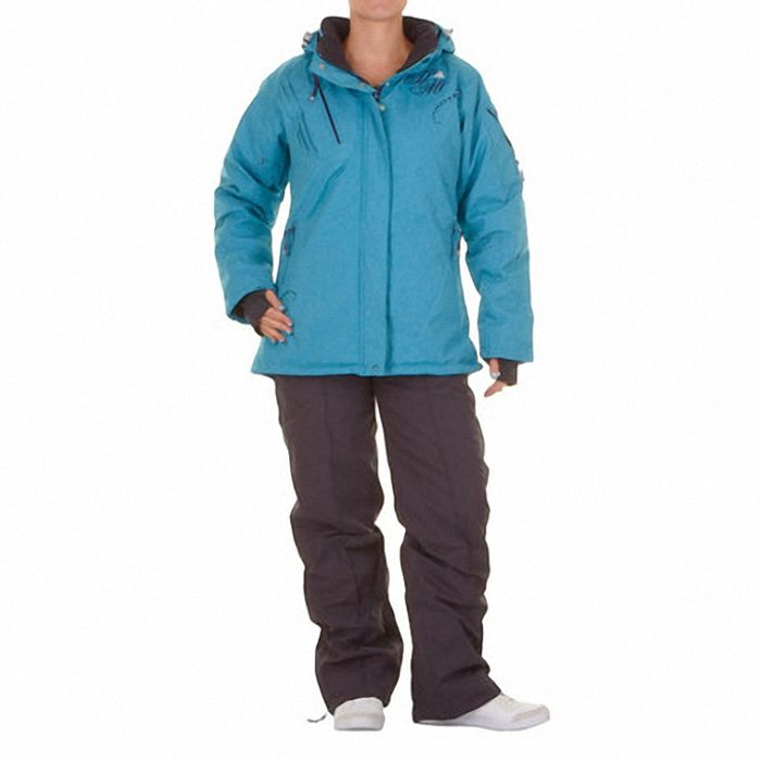 peak mountain ensemble de ski fille gazly fushia marron. Black Bedroom Furniture Sets. Home Design Ideas