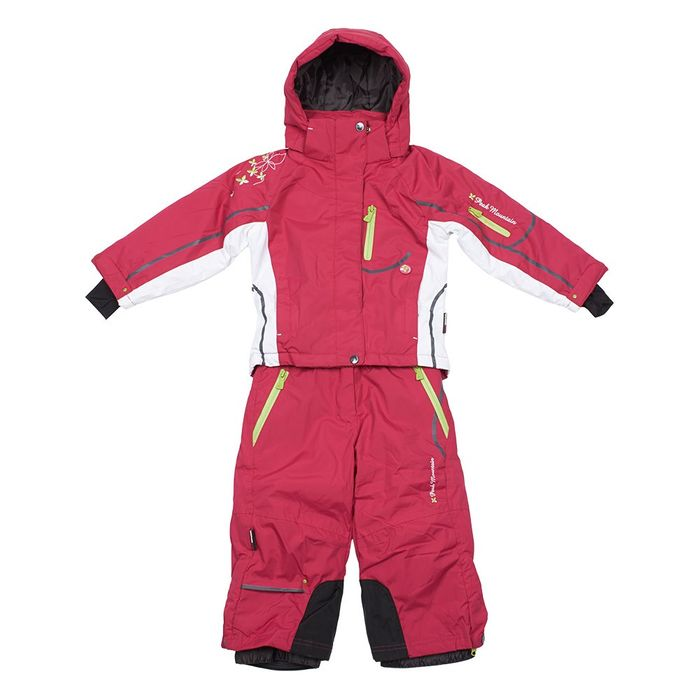 peak mountain ensemble de ski fille gauline framboise achat et prix pas cher go sport. Black Bedroom Furniture Sets. Home Design Ideas