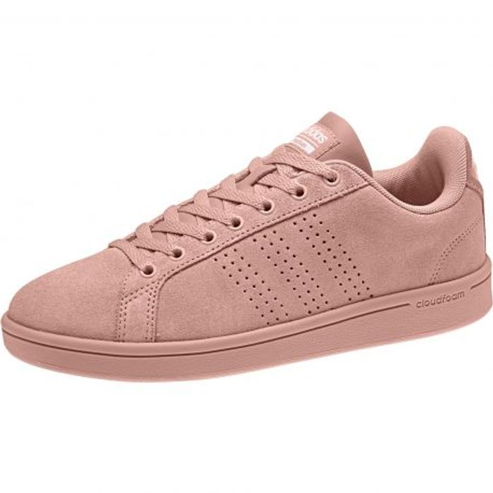 premium selection 3f6cb 9d2f6 Rose Clean Adidas Cloudfoam Advantage Chaussure Neo Femme BqfwAxCYq