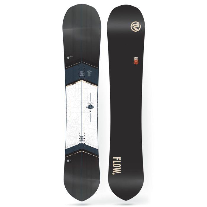 planche de snowboard flow solitude noir homme achat et. Black Bedroom Furniture Sets. Home Design Ideas