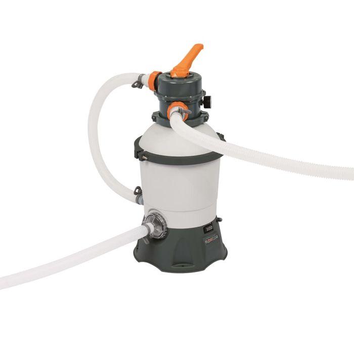 bestway pompe filtre sable flowclear 2006 l h 58515. Black Bedroom Furniture Sets. Home Design Ideas