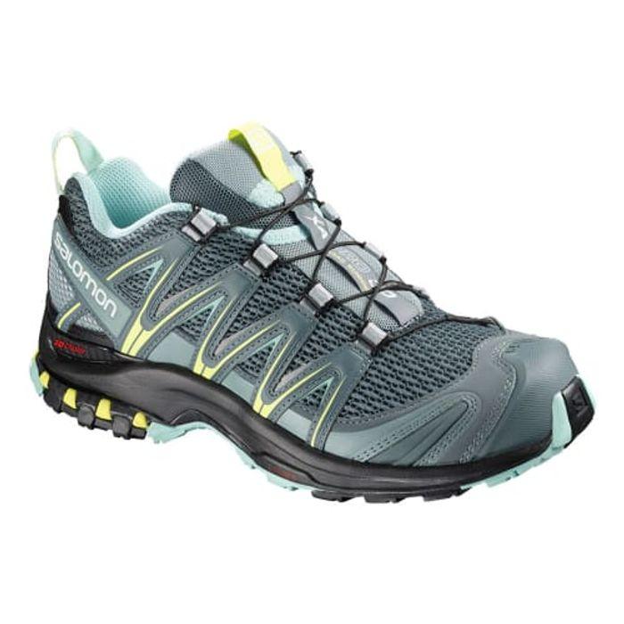 Running Gris – Salomon XA Pro 3D femmes chaussures de trail Femme Gris