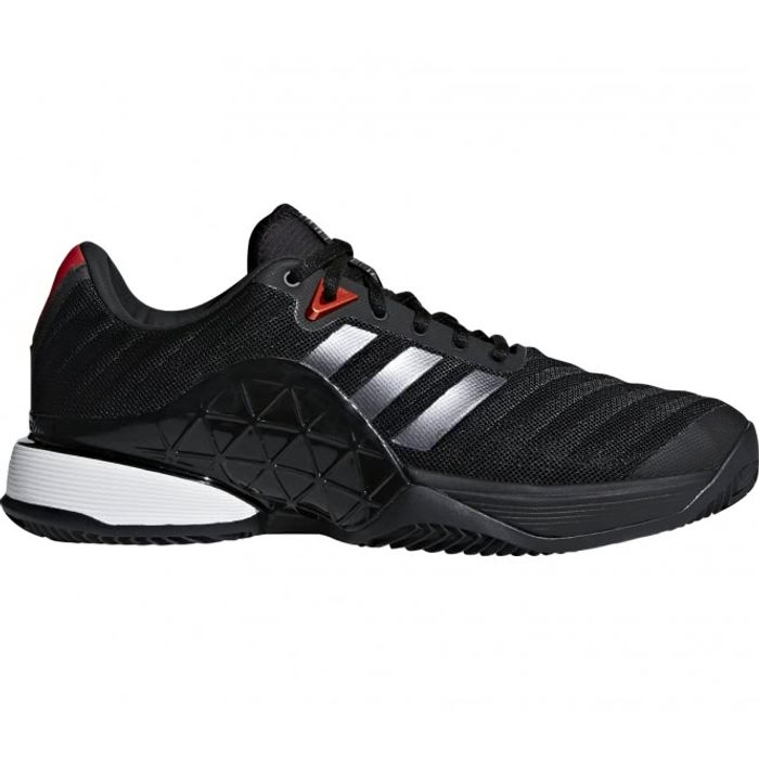 de Chaussure noir clay Hommes Adidas 2018 Barricade tennis 4qawnXTW