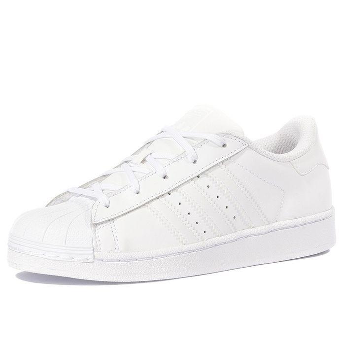 adidas superstar blanche fille