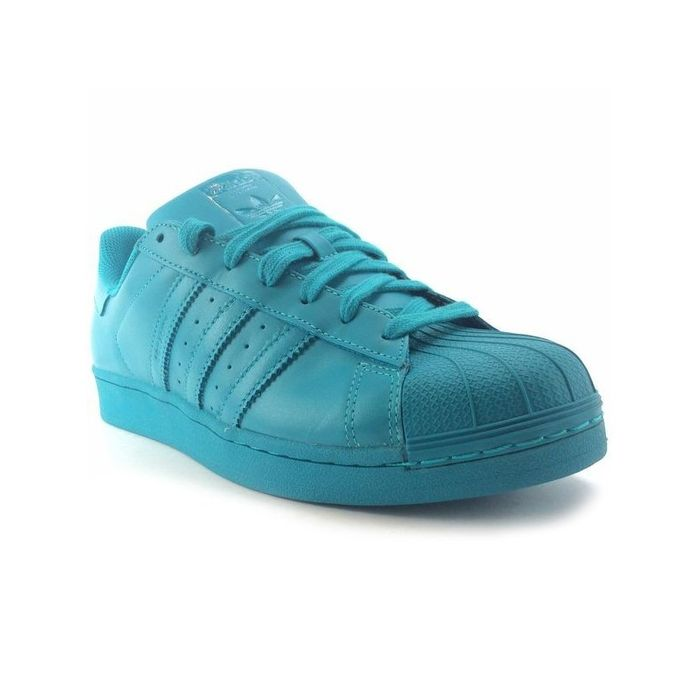adidas superstar turquoise