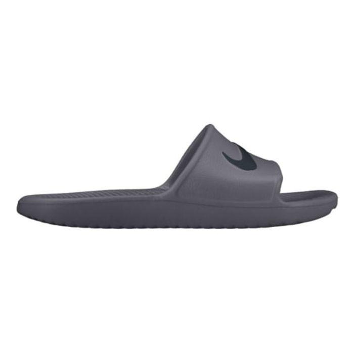official photos d395f c5f59 homme NIKE Claquettes Nike Kawa Shower gris noir