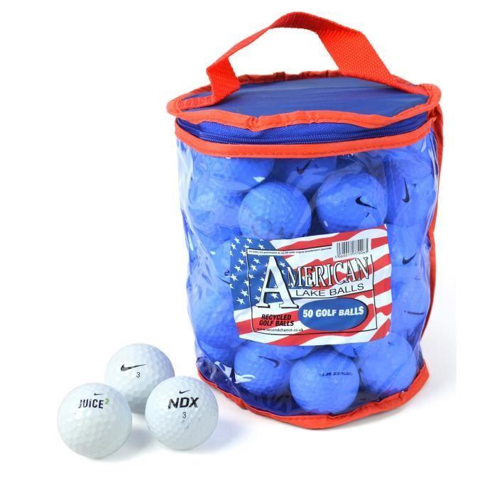 balle de golf lot de 50 balles de golf nike mix blanc achat et prix pas cher go sport. Black Bedroom Furniture Sets. Home Design Ideas