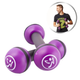 Fitness  VIDAXL Zumba Haltères tonifiantes 2 pièces 1 kg Violet ZUM011