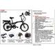 Vélo  Mercier VELO 20 pouces E-PLIANT  MERCIER aluminium