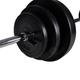 Fitness  VIDAXL vidaXL Kit de barre d'haltère et 2 haltères 30,5 kg