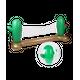Piscine  AirMyFun Filet de volley Gonflable et Flottant + Ballon Gonflable pour Piscine & Plage - Pack Sport Cactus