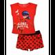 Mode- Lifestyle enfant LADYBUG Pyjacourt MIRACULOUS LADYBUG pyjama enfant short + t-shirt rouge - 4 ans rouge