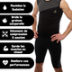 Fitness homme VEOFIT Short de Sudation et de Sport Homme Veofit