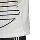 Mode- Lifestyle homme ADIDAS T-shirt Adidas Big Trefoil Outline Blanc