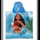Polyvalent enfant VAIANA Poncho - cape de bain à capuche Vaiana bleu
