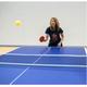 FAKAIS 4 raquettes de ping pong couleur + housse + 8 balles + filet rétractable