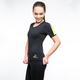 Fitness femme VEOFIT T-shirt sudation
