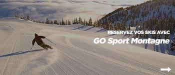 Réservez vos skis